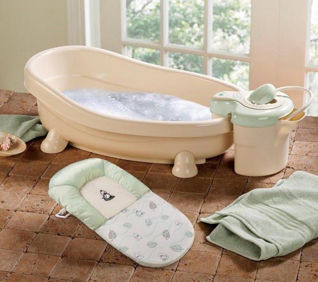 Chuẩn bị vật dụng trước khi tắm