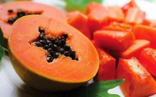 Đu đủ giàu hàm lượng vitamin và khoáng chất