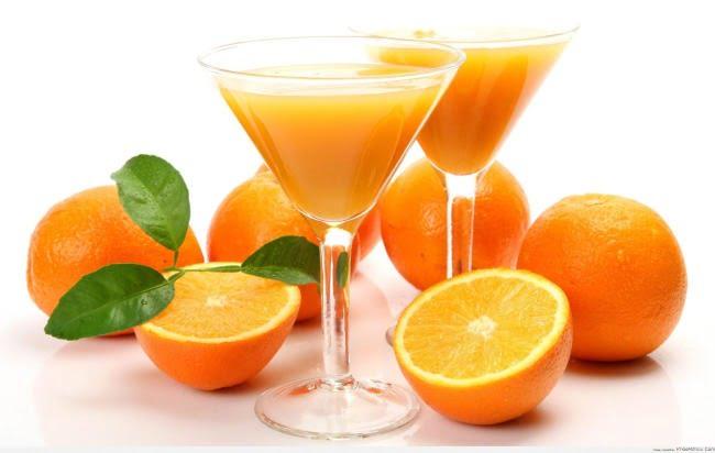 Nước cam chống oxy hóa