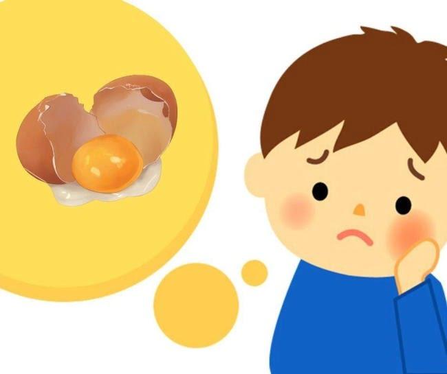 Trẻ dưới 1 tuổi không được ăn trứng gà