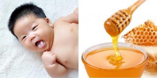 Trẻ nhỏ dưới 6 tháng tuổi không nên dùng mật ong