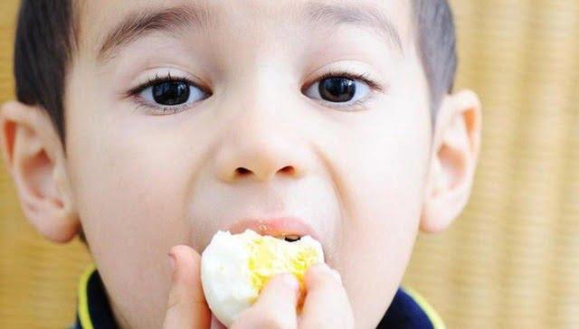 Trứng gà là món ăn khoái khẩu của hầu hết các bé