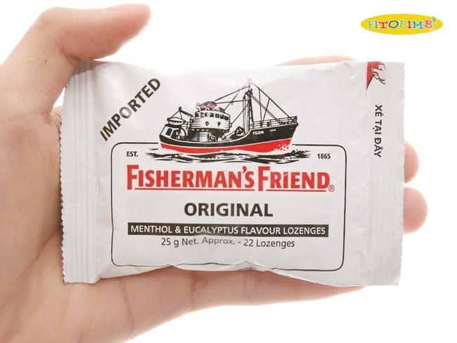 Kẹo ngậm ho cho bé Fisherman's Friend