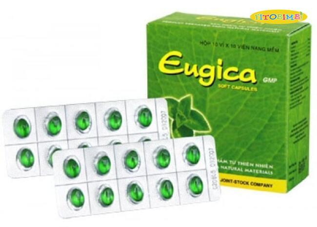 Viên ngậm ho cho trẻ em Eugica