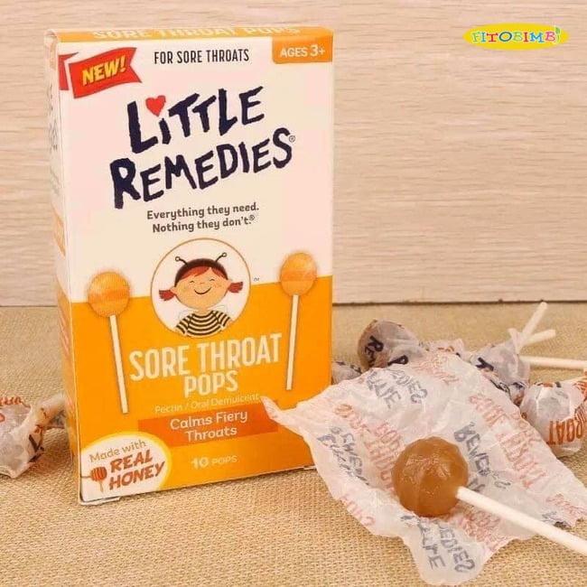 Viên ngậm ho Little Remedies