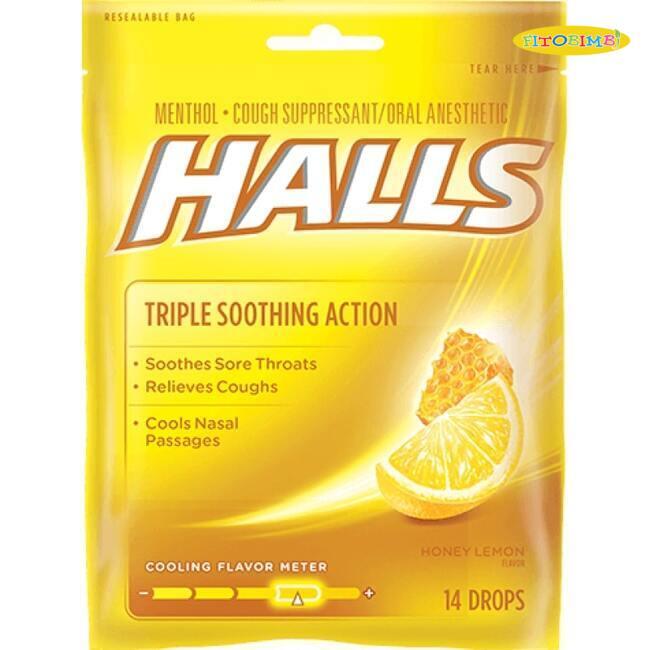 Viên ngậm trị ho Halls Cough Drops
