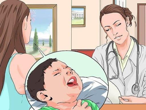 Trẻ bị viêm thanh quản