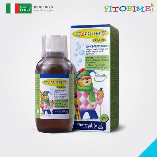 Broncamil Bimbi - Giúp giảm ho, long đờm và tăng cường hệ miễn dịch cho bé