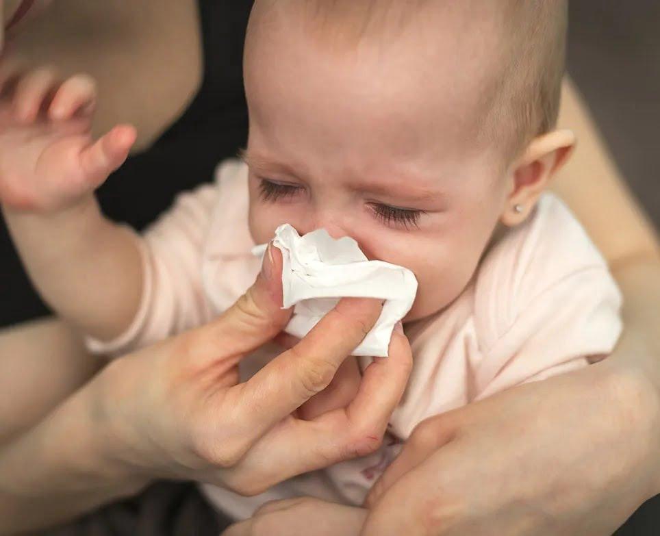 Cách trị ho nghẹt mũi cho trẻ sơ sinh