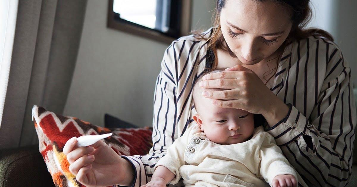 Cách trị ho sốt cho trẻ