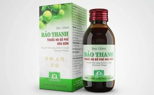Siro ho Bảo Thanh
