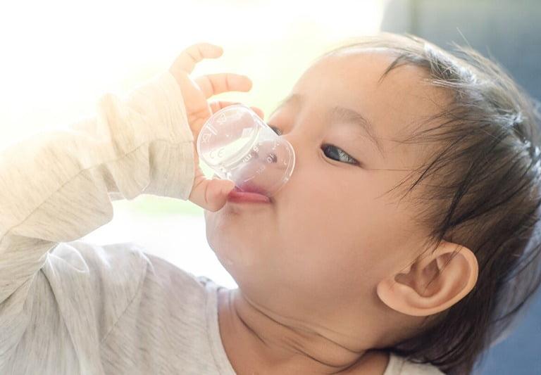 Cách sử dụng Broncamil cho bé