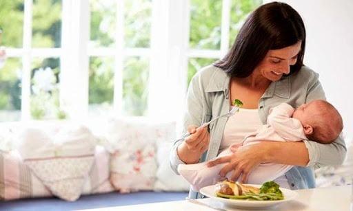 Dinh dưỡng phù hợp cho mẹ