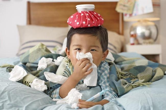 Tussiflux Junior - Hỗ trợ điều trị ho, viêm họng do cảm lạnh cho bé
