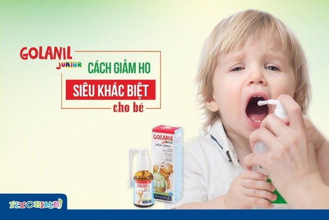 Golanil Junior - Mang đến tác dụng 3in1 giảm ho, bảo vệ hô hấp