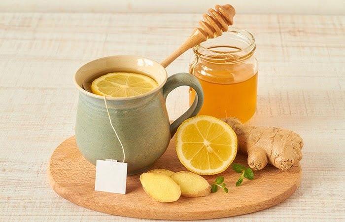 Nước chanh mật ong giúp trị ho hiệu quả