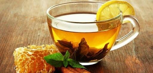 Trà mật ong giảm đau rát họng