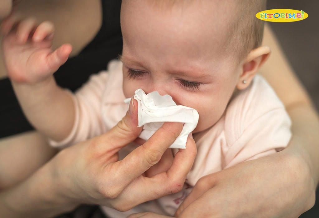 Trẻ sơ sinh bị ho và sổ mũi