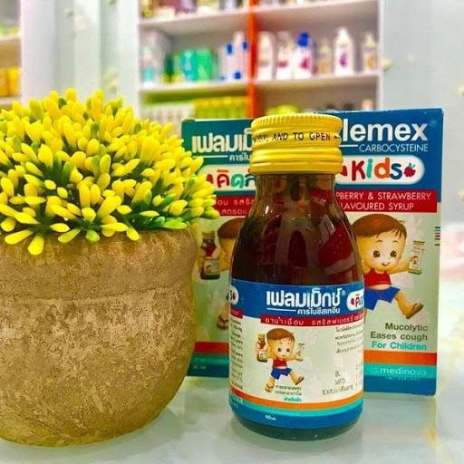 Siro ho Flemex syrup Thái Lan