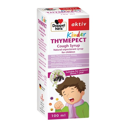 Thuốc ho DoppelHerz Kinder Thymepect cho trẻ