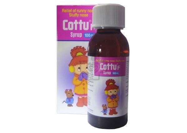 Thuốc ho trẻ em của Hàn Quốc Cottu F