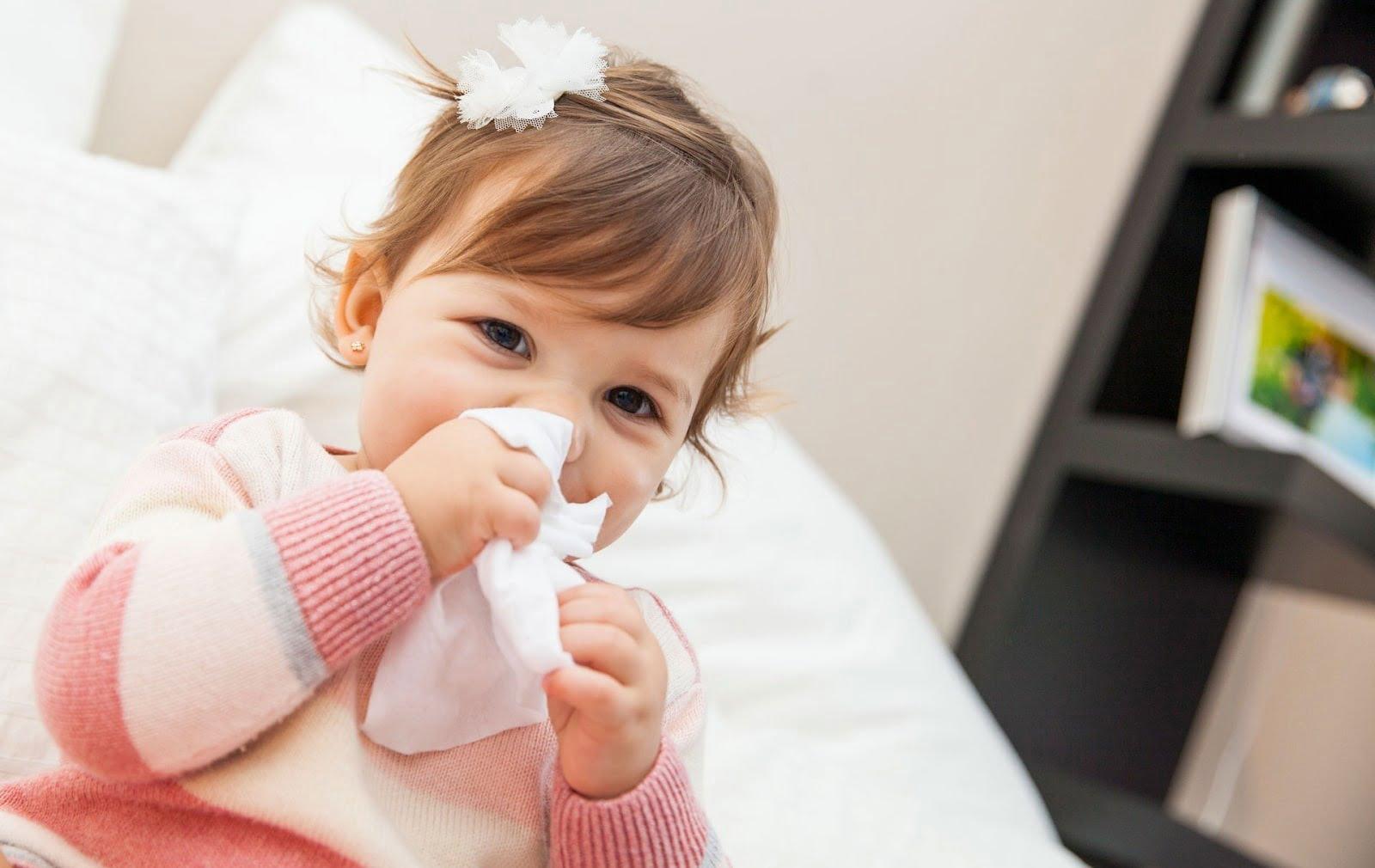 Thuốc kháng sinh không có tác dụng trong trường hợp trẻ bị viêm phế quản do virus
