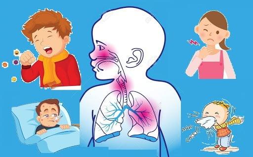Cảnh báo trẻ bị viêm đường hô hấp trên khi giao mùa