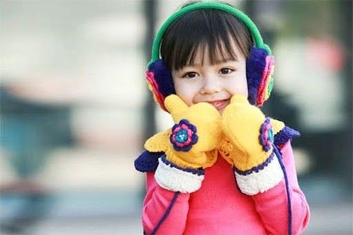 Giữ ấm cơ thể cho trẻ
