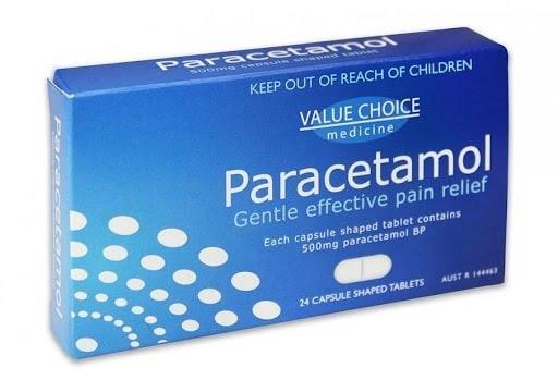 Thuốc hạ sốt Paracetamol