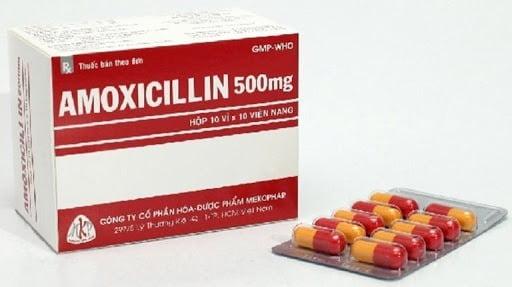Thuốc kháng sinh cho trẻ bị viêm amidan